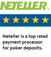 Neteller is great for making poker deposits